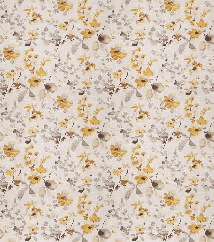 Eaton square upholstery fabricgoldstoneyellow grey grey