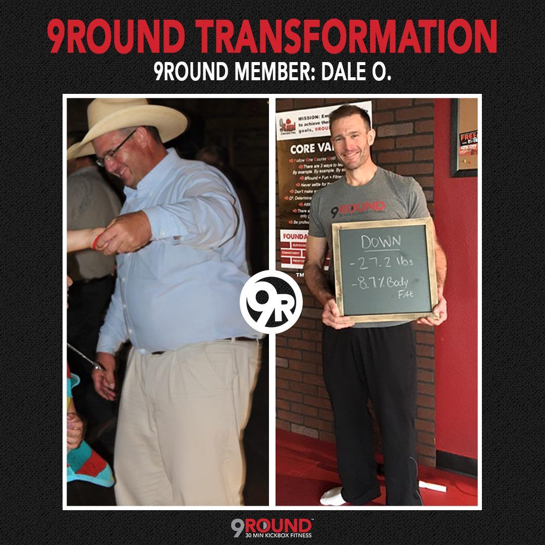 This is what Dale has to say about his time with 9Round