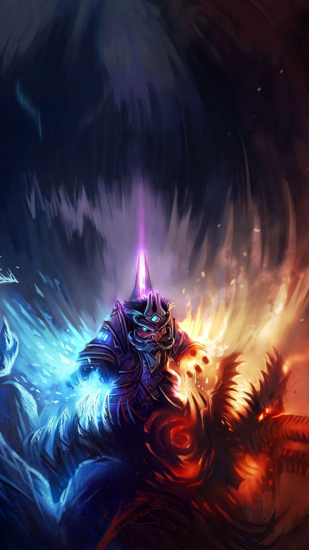 World Of Warcraft Cell Phone Wallpaper World Of Warcraft Wallpaper Warcraft Art Warcraft