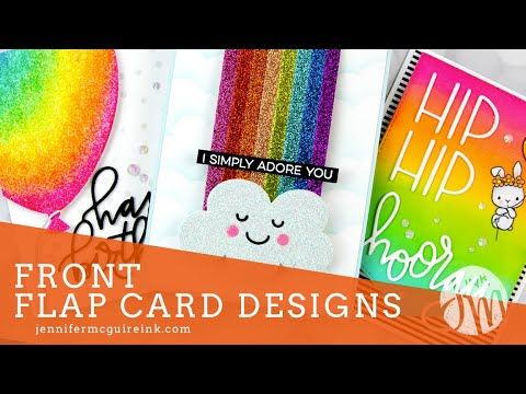 Front Flap Card Designs In 2020 Card Design Simple Card Designs