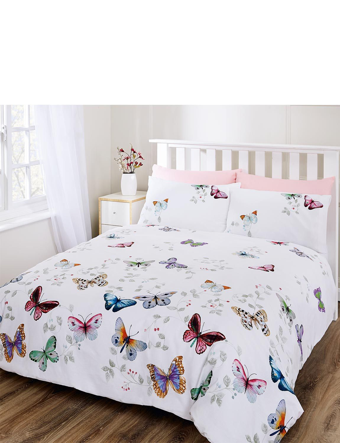 Butterfly Collection Designer Bed Sheets Kids Bed Linen Pretty Bedding