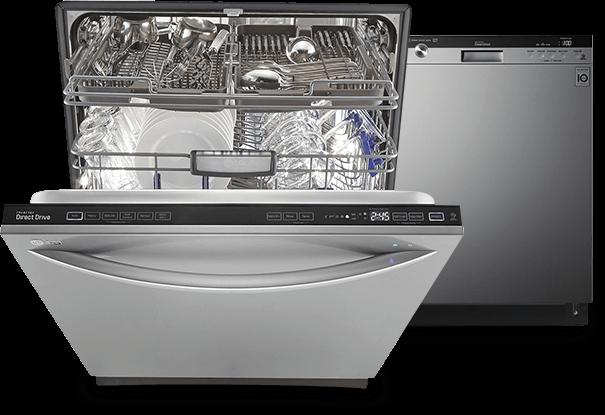 Easyrack Plus Dishwasher Lg Appliances Stainless Steel