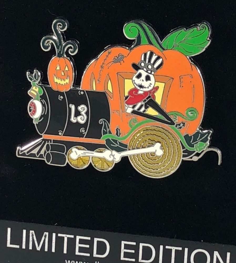 Details about Disney Shopping 6 Pin Halloween Nightmare Before ...