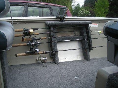 rod holder | tinboats | Boat rods, Aluminum fishing boats, Boat