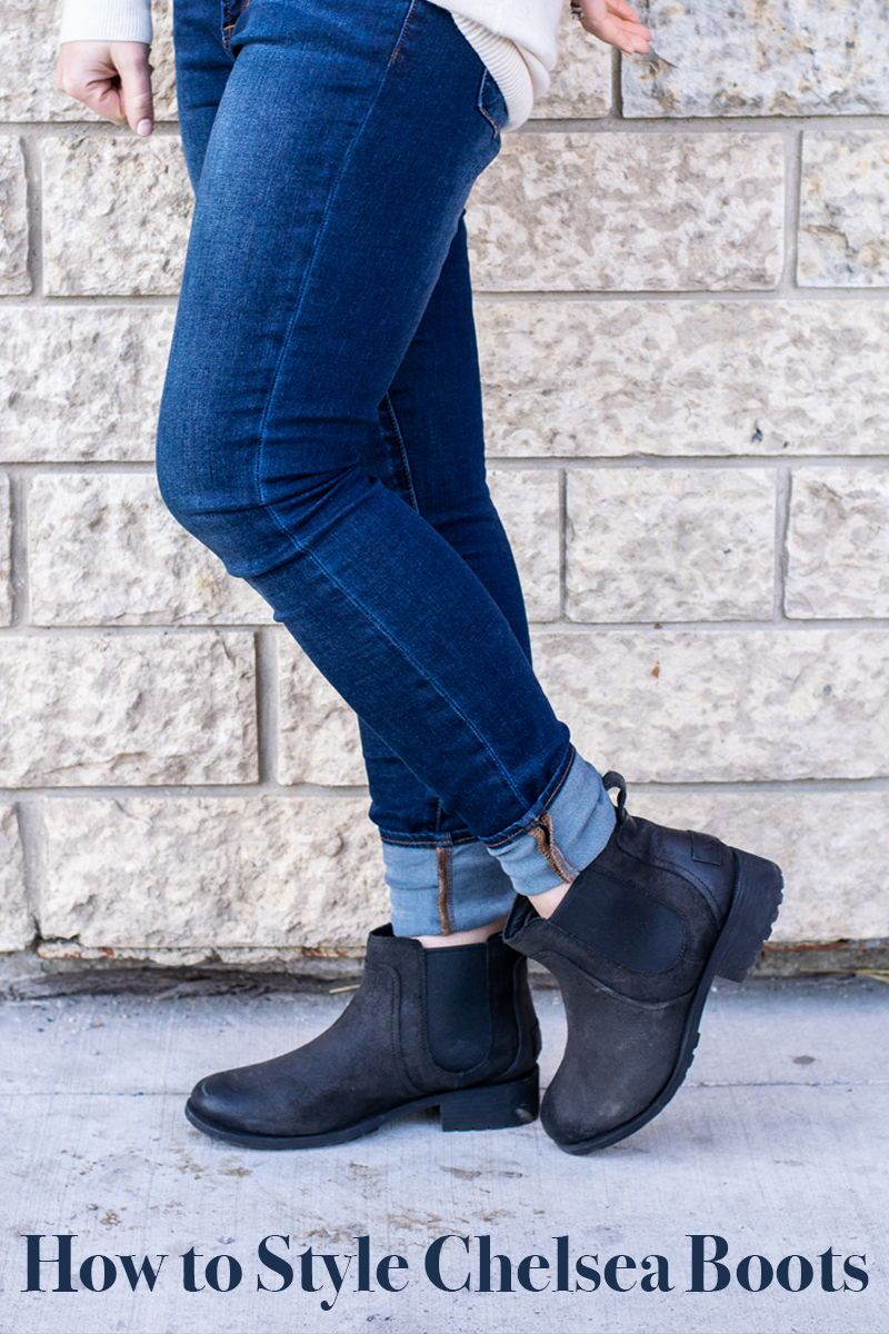 How To Wear Chelsea Boots With a Sweater Dress | Ankle boots