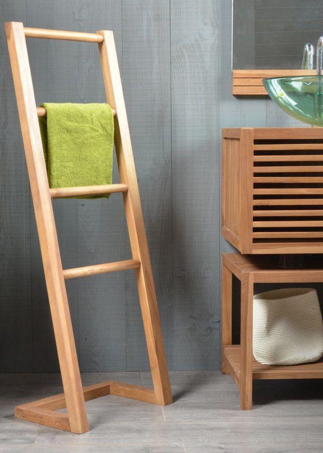 8 porte-serviettes ultra déco pour une jolie salle de bains