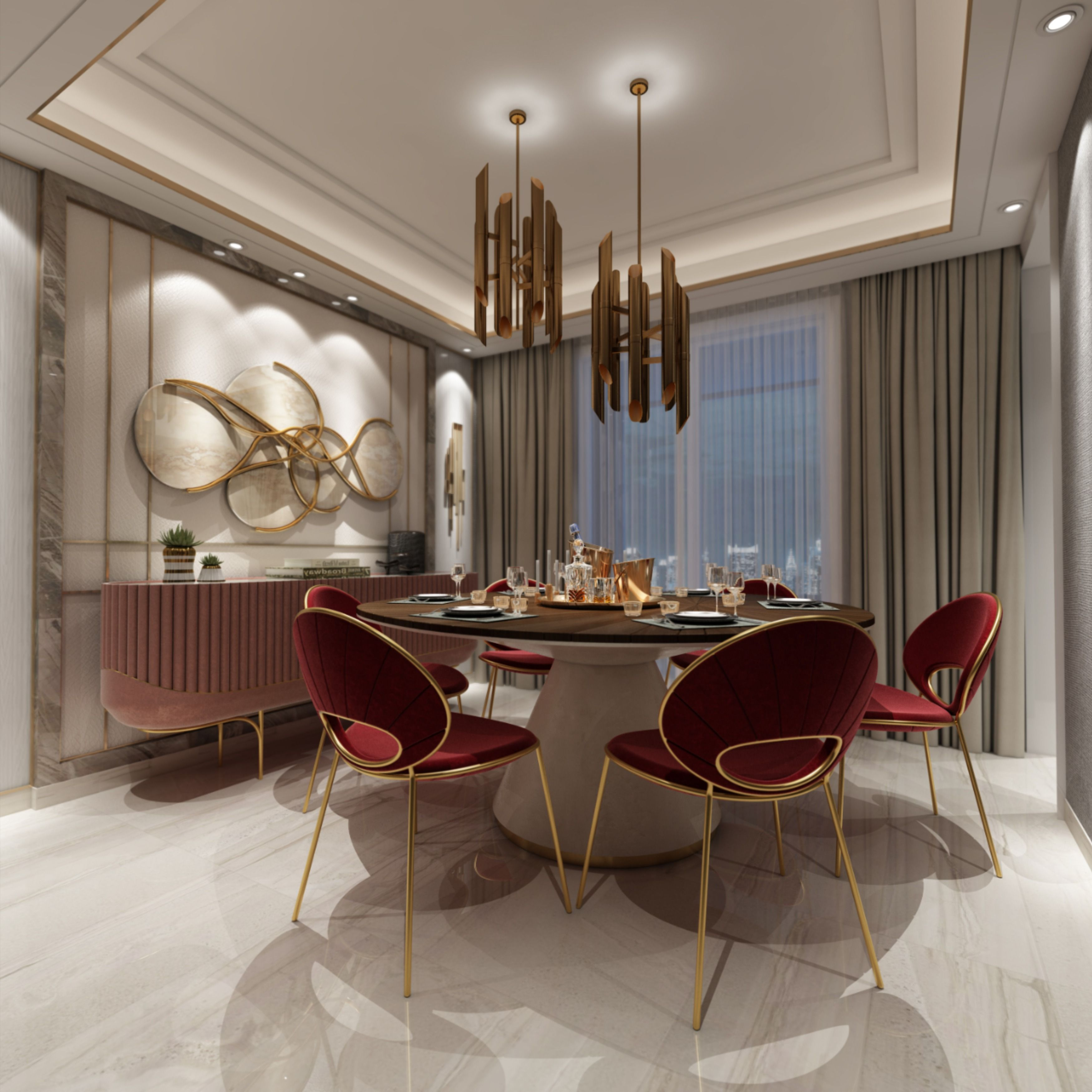 126 Custom Luxury Dining Room Interior Designs: Inspiration & Ideas For Exclusive Chairs In 2020