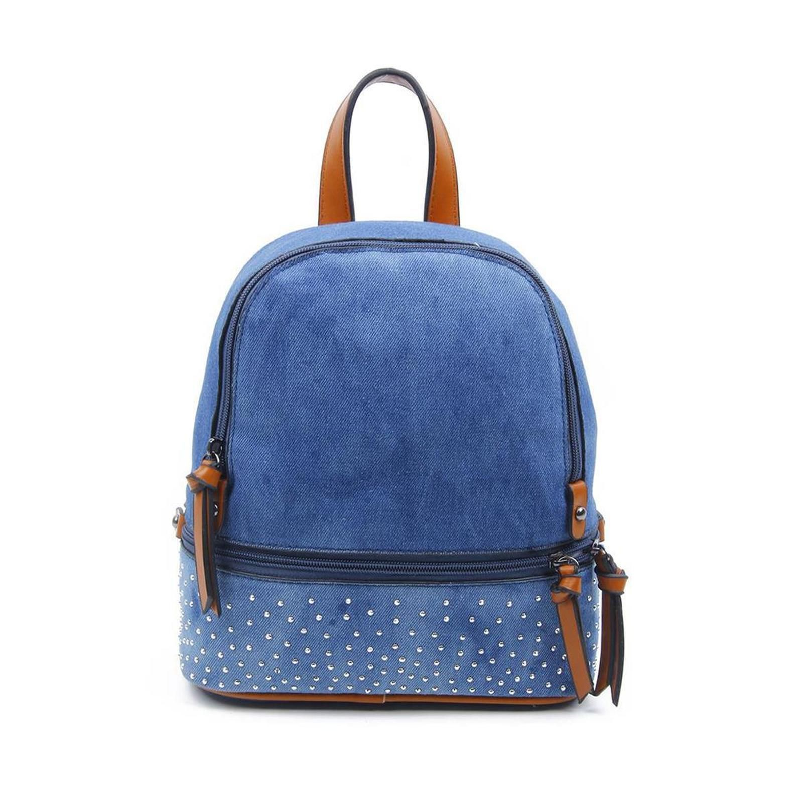 Photo of Obc women girls jeans rucksack backpack