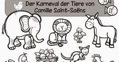 Ideenreise Arbeitsheft Zum Karneval Der Tiere Von Camille Saint Saens Carnaval De Los Animales Clase De Musica Educacion Musical