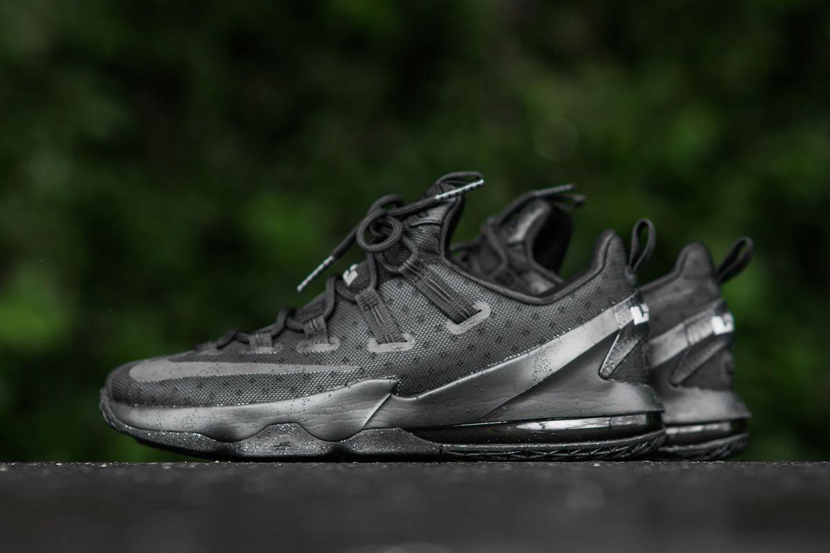 buy popular b9eaa 91387 Nike LeBron 13 Low Drops in Blackout Colorway - EU Kicks  Sneaker Magazine