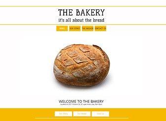 The Bakery Website Template Wix Bakery Website Bakery Website Template