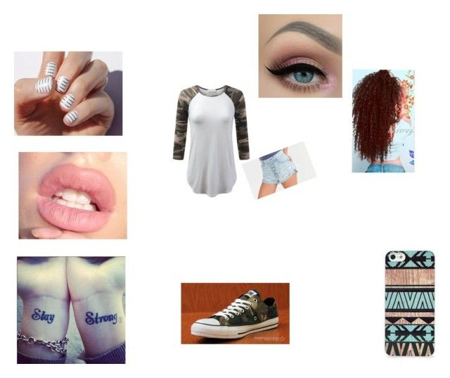"""Untitled #67"" by magconisbae2006 ❤ liked on Polyvore featuring Bardot, BlissfulCASE and Converse"