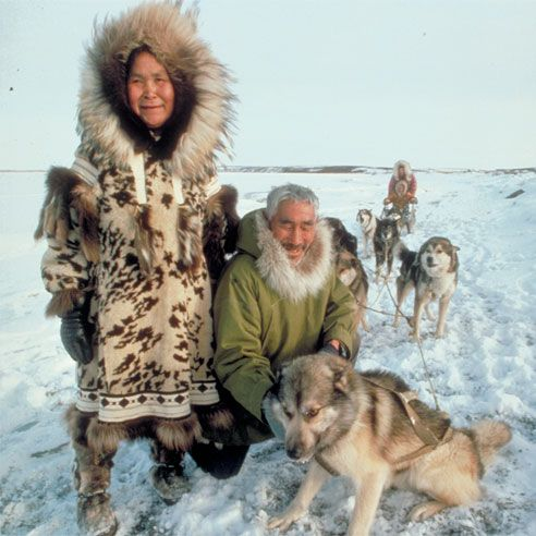 Inupiat Eskimos, Kotzebue, Alaska
