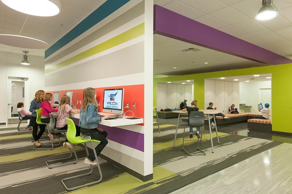 D49 Falcon Virtual Academy Shaw Contract School Interior