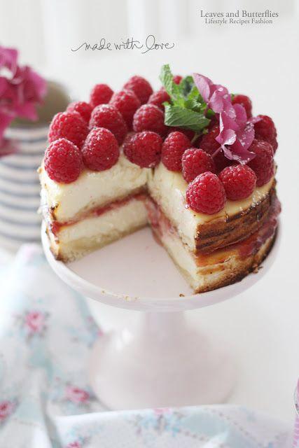 Cheesecake Mit Himbeeren Sommerlicher Abschied Recipes