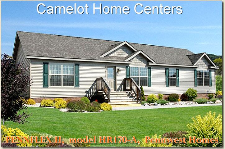 3 bedroom pennwest hr170 a modular ranch home for sale at camelot rh pinterest com