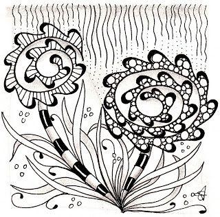 Tangles: Fricle, Verdigogh, Msst, Tipple (inside Fricle