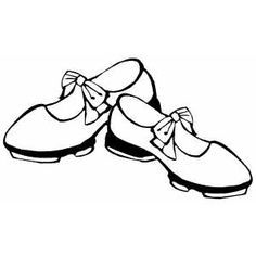 Dancing Shoes Coloring Page Dance Coloring Pages Coloring Pages Dance Crafts