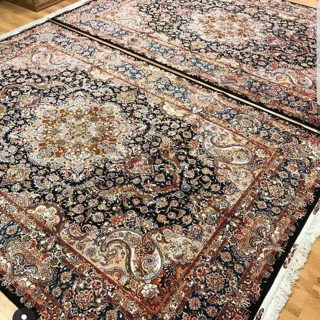 The Design Of Master Salari 3 2m Density 60 Combination Of Silk And Wool طرح استاد سالاری ۶۰ رج ۶ متری ابریشم و پشم بر Rugs Classic Rugs Carpet Shops