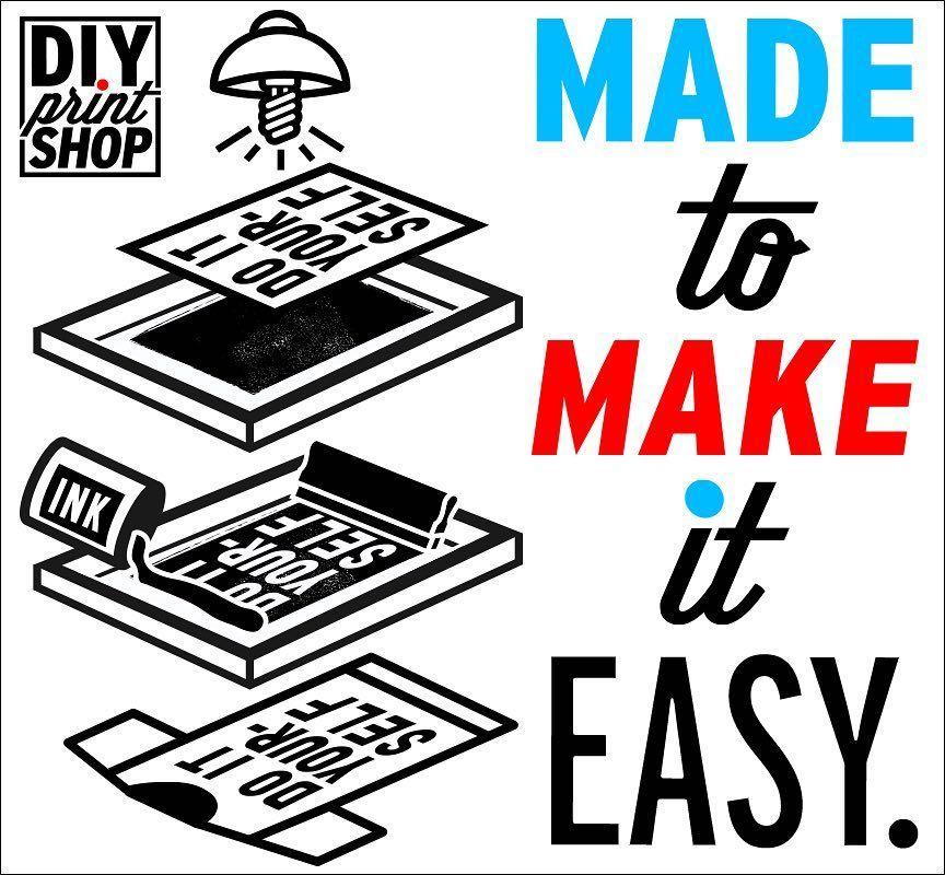 Diy screen printing kits on instagram diy screen