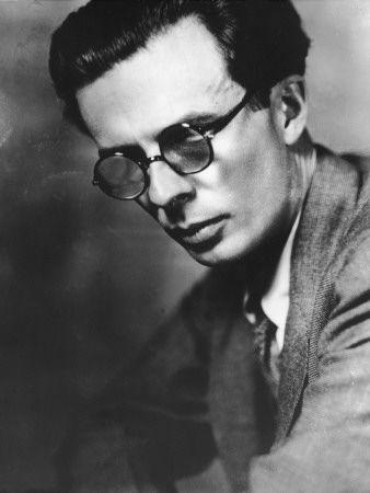 Aldous Huxley (photo by Frederic Lewis)