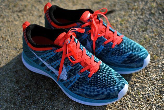 sneakers for cheap 348b7 cee97 ... reduced nike flyknit lunar 1 blue orange 50929 f0d38