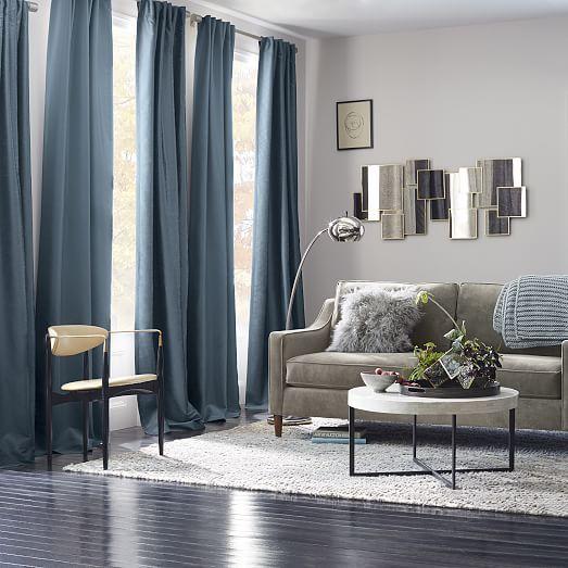 Greenwich Curtain Blackout Liner Blue Lagoon Grey Curtains Living Room Living Room Grey Blue Curtains Living Room