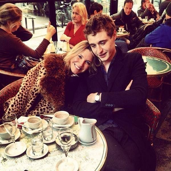 Max Irons and his girlfriend Sophie Pera, who is fashion ...