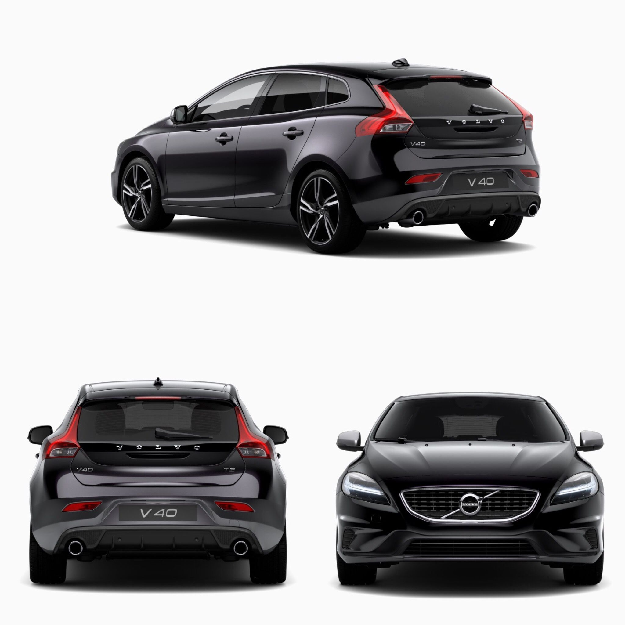 Volvo V40 RDesign T2 Blacked Les Voitures T Volvo