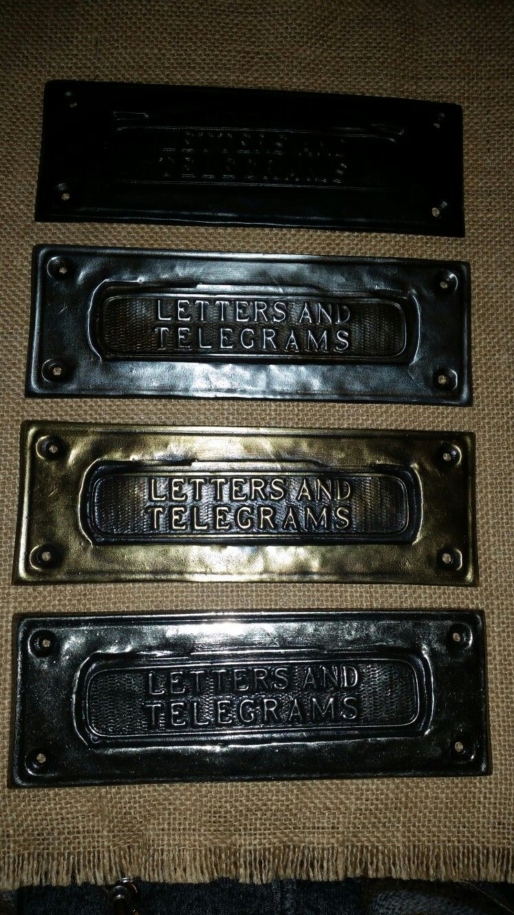 letter box covers made to cover holes on re cycled doors - Letter Box Covers