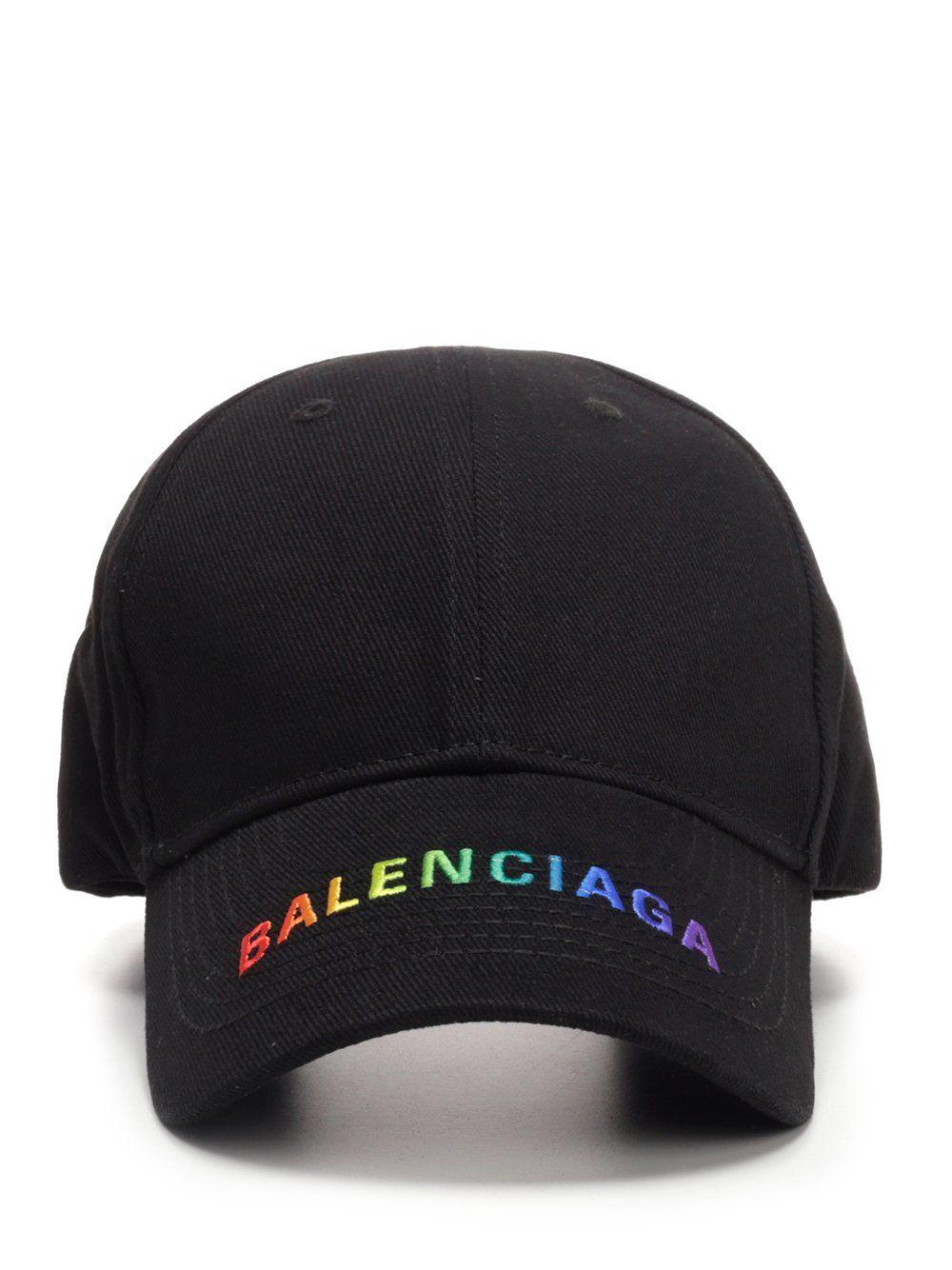 2fe5f0779 BALENCIAGA BALENCIAGA COLOURFUL RAINBOW CAP. #balenciaga ...