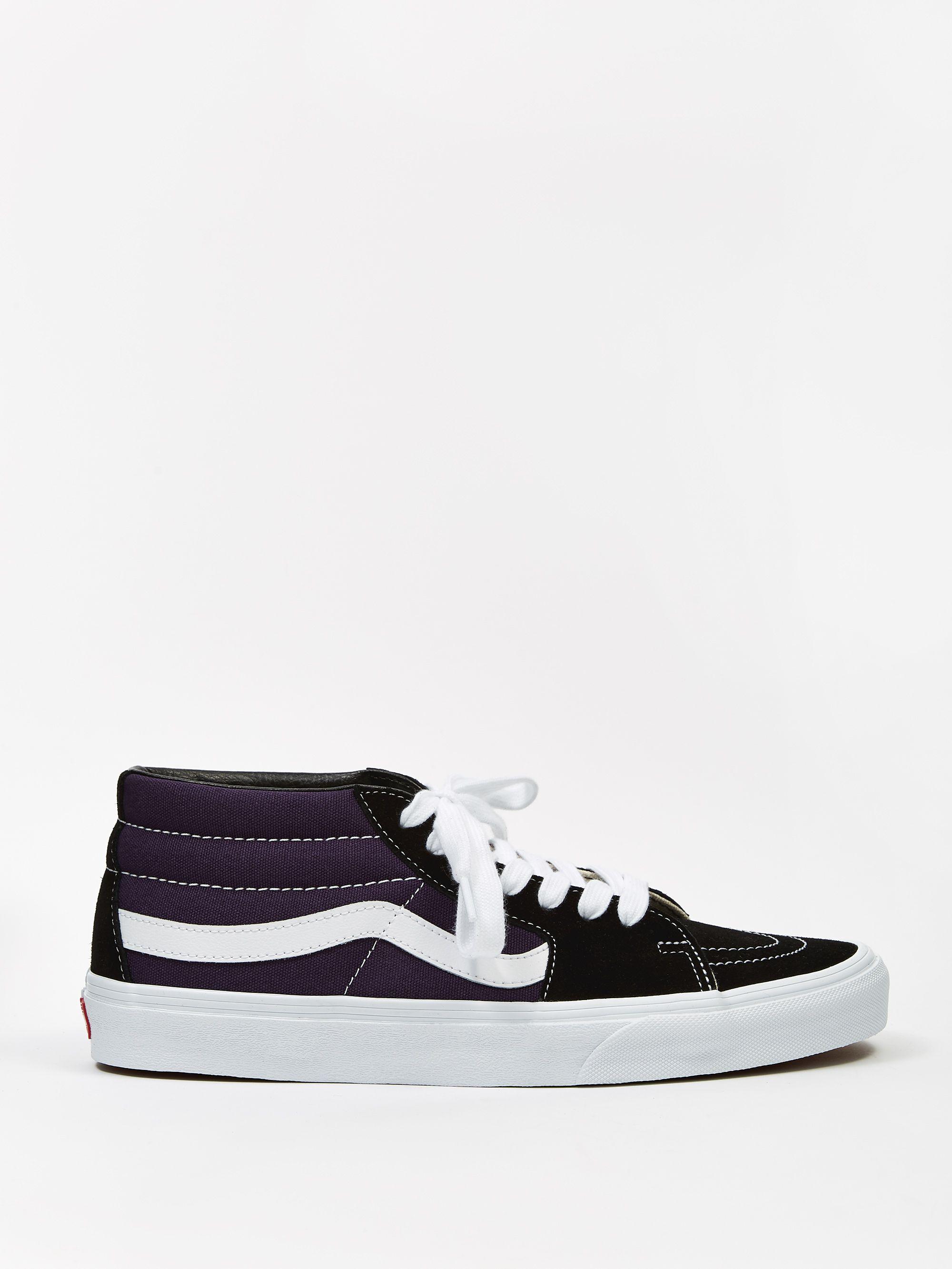 Vans Shoes Sk8 Mid Retro SkateBlackMysterioso