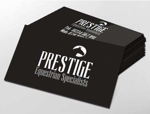 Classic business card design ideal for equine enthisiasts classic business card design ideal for equine enthisiasts customise a range of business card reheart Images