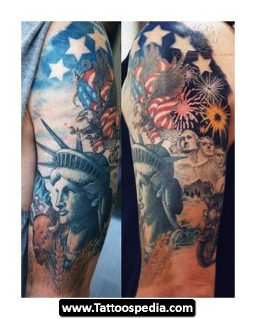 patriotic tattoo designs patriotic tattoos tattoo artistsorg tattoo best patriotic tattoos. Black Bedroom Furniture Sets. Home Design Ideas