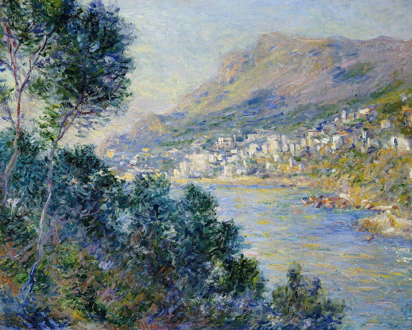 MONET Claude,1884 - Monte-Carlo vu de Roquebrune : « Monet, je n'ai jamais  rencontré un pareil metteur en place, une facilité si … | Impresjonizm,  Malarstwo, Sztuka