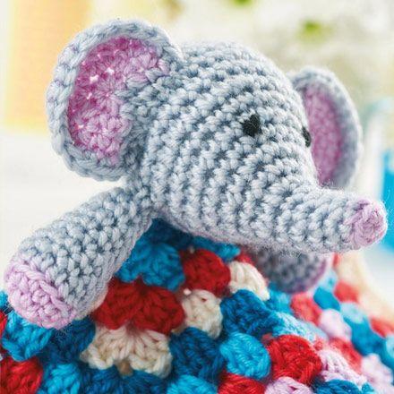 Baby Elephant Blanket Amigurumi Pinterest Elephant Blanket