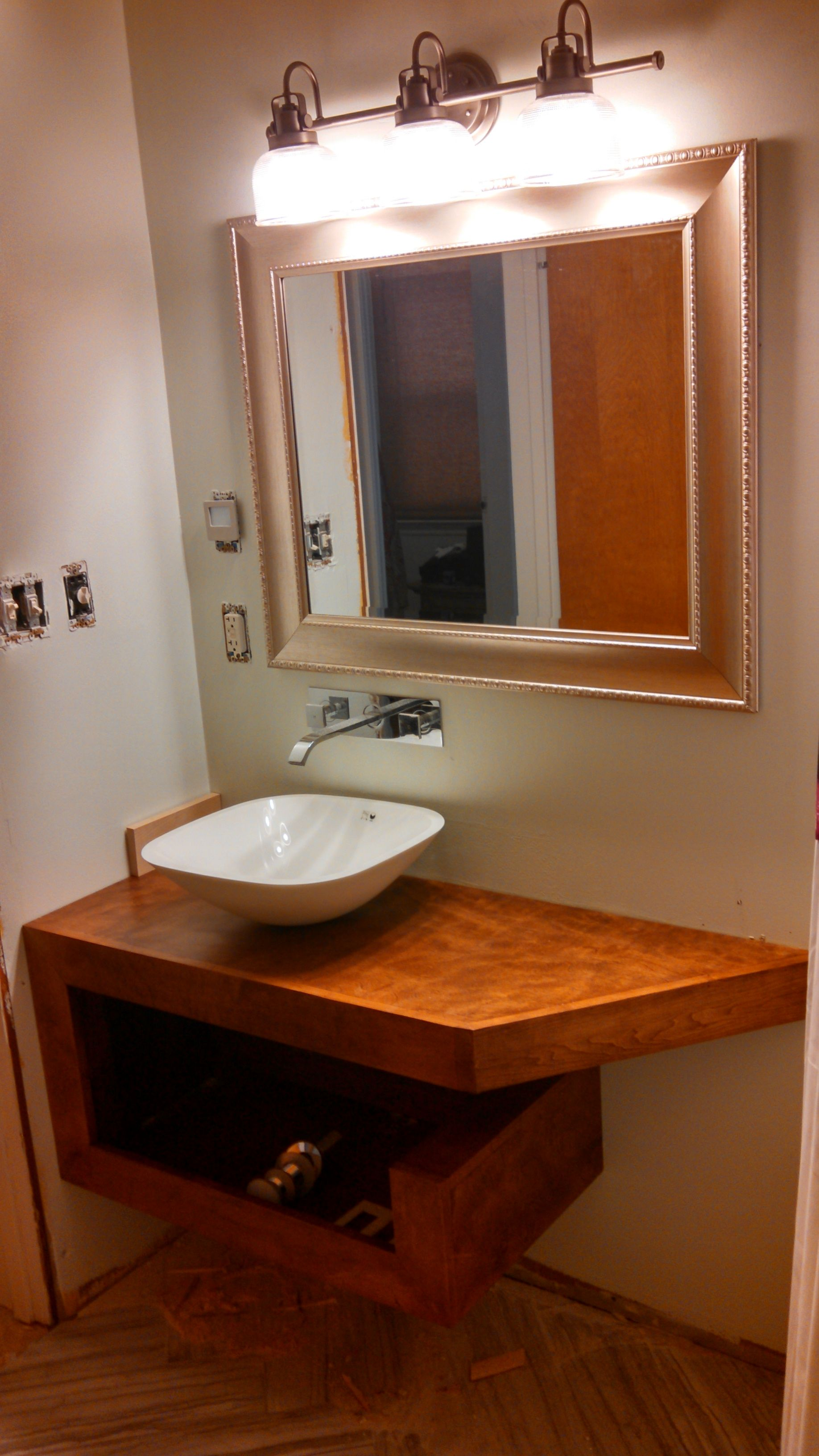 Andys blog thoughts i think floating bathroom