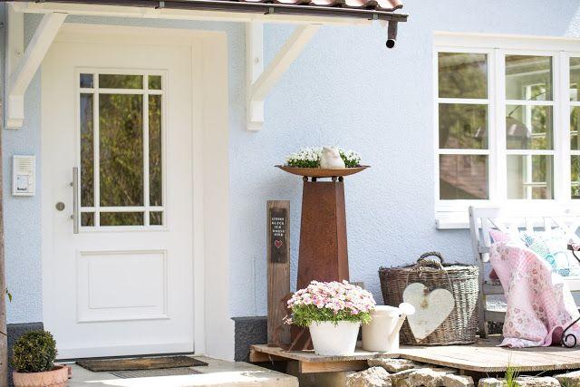 Mein Hauseingang Im Mai Oder Gluck Ist Uberall Hauseingang Eingang Und Haus Interieurs