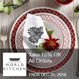 World Kitchen Coupon   Take 15% Off All Orders With Code At ShopWorldKitchen .com