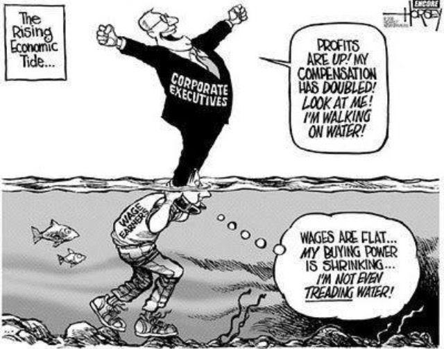 Resultado de imagem para charges contra neoliberalismo