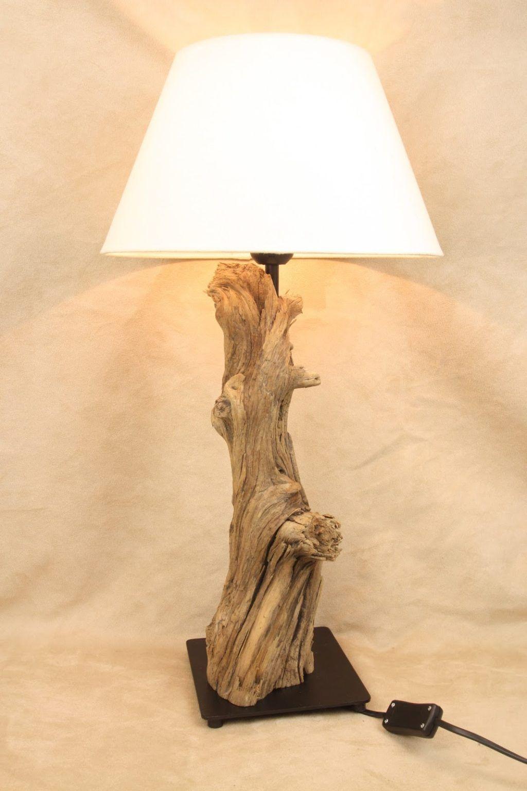 Ideen Fur Lampen Driftwood Lamp Wooden Lamp Cool Lamps