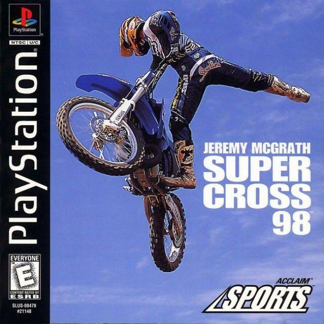 Comprar Jogos Ps 2 Xbox 360 Dvd Xbox360 Playstation 2 Ps2: Jogo JEREMY MCGRATH SUPER CROSS 98 Para PlayStation PSX