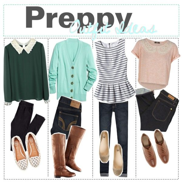 Preppy Outfits Polyvore Google Search