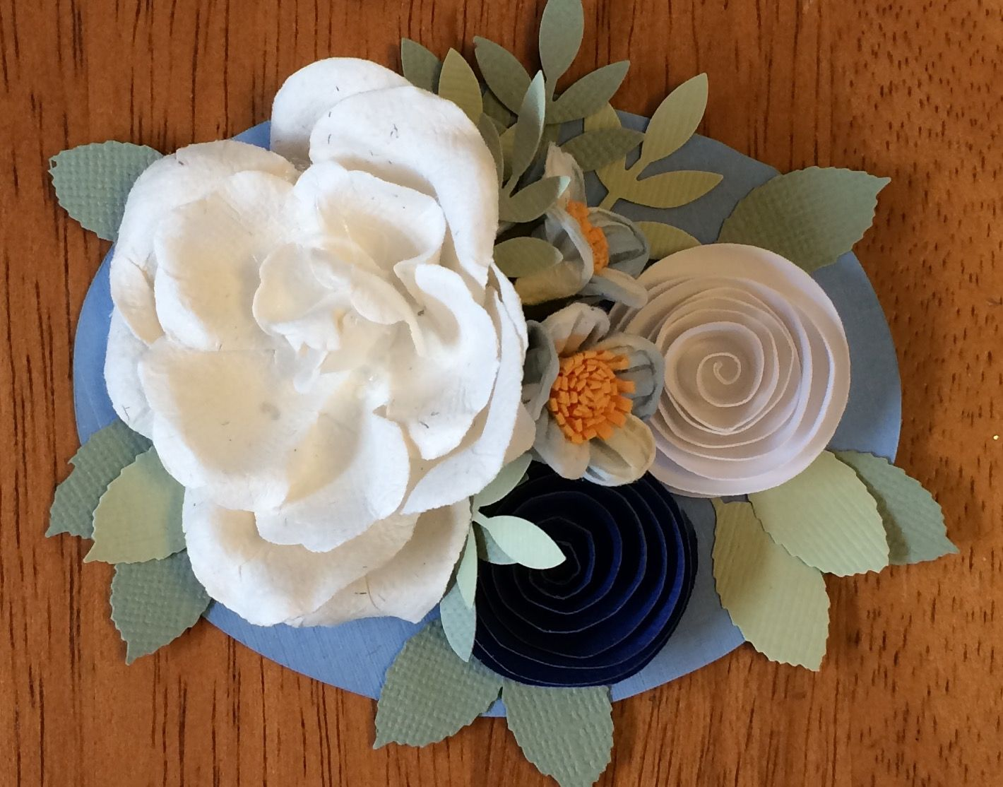 Place Setting Using Paper Flowers From Papermart Each Has A Love