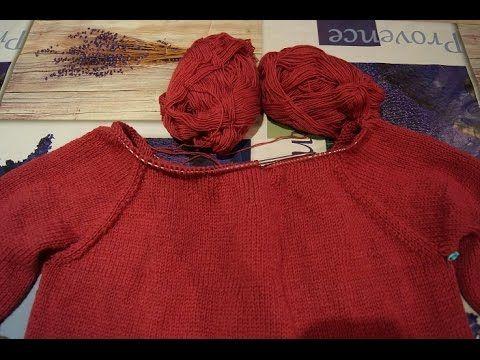 Ютуб вязание на спицах свитера 88