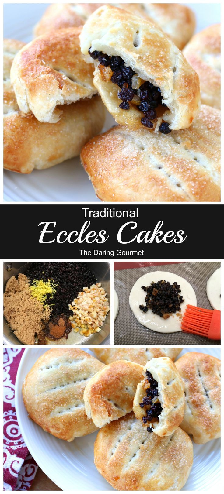 Traditional Eccles Cakes Recipe Eccles cake, Sweet