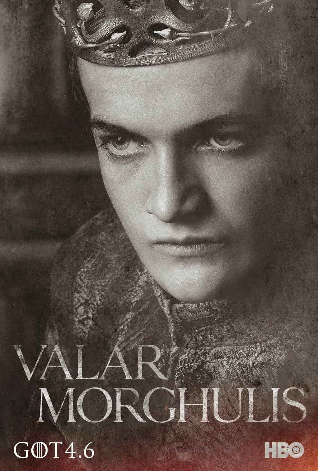 Got Poster For The New Season 6 April Joffrey Baratheon Valar