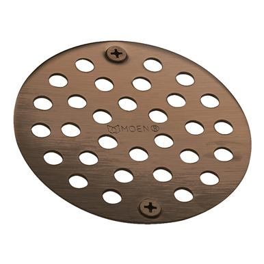 Moen 4 Shower Drain Cover Oil Rubbed Bronze Shower Drain