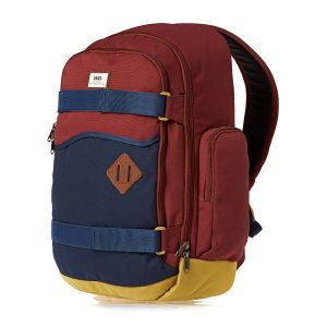 1540470507 Vans Backpacks - Vans Transient Ii Skate Pack - Russet Colorblock ...