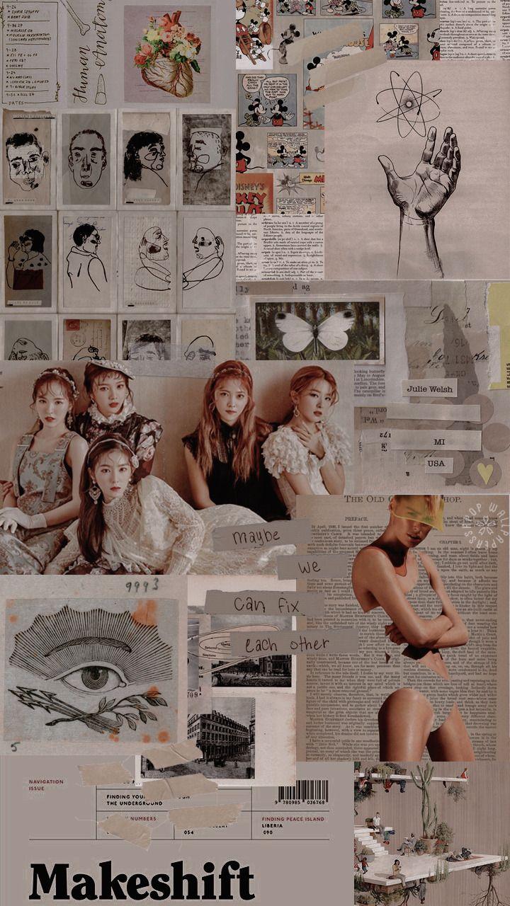 Red Velvet Redvelvet Seulgi Irene Joy Wendy Yeri Love Aesthetic Tumblr Red Redtheme Red Velvet Red Velvet Photoshoot Velvet Wallpaper